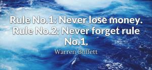 2 Rules of Money – Buffet